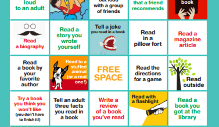 Summer+reading+bingo