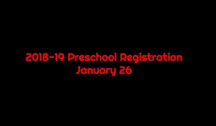 Preschool+registration