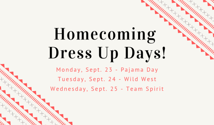 Homecoming+dress+up+days