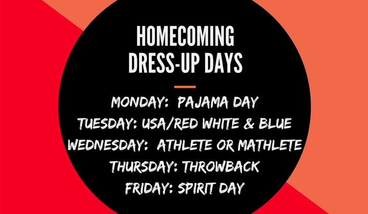 Homecoming+dress up+days