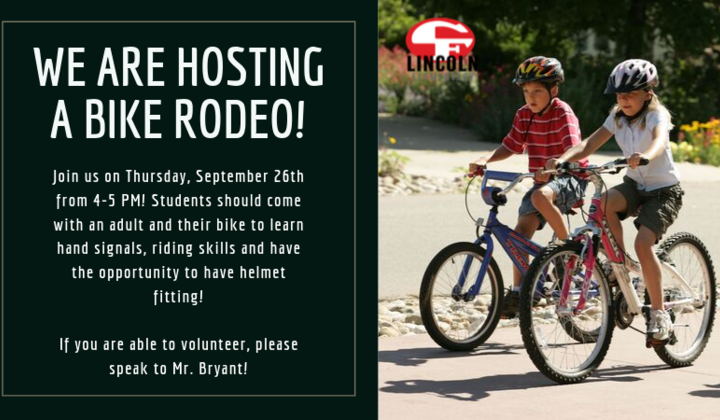 We+are+hosting+a+bike+rodeo%21